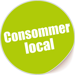 Logo consommer local